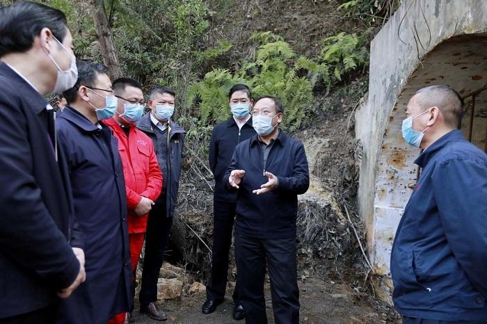 杨洪波赴广元市调研生态环境保护工作